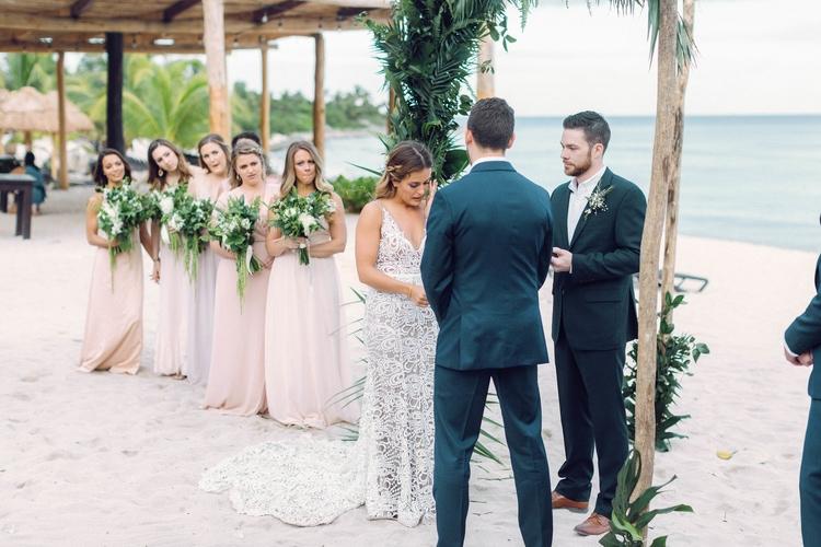 Destination Wedding Blue Venado Beach Club  35