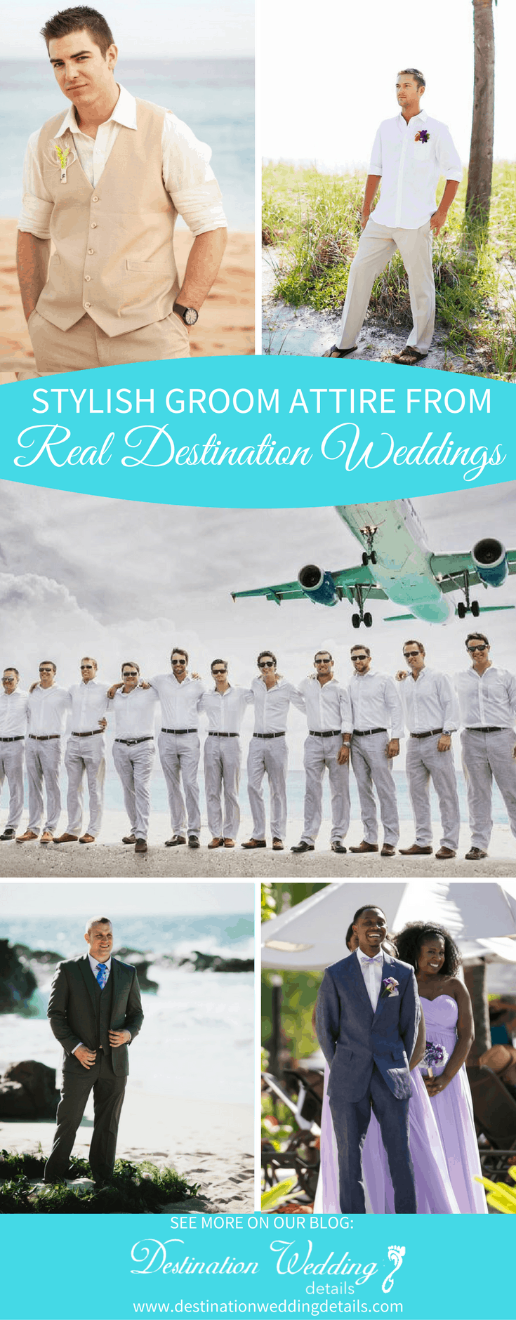 Destination Wedding Groom attire pinterest