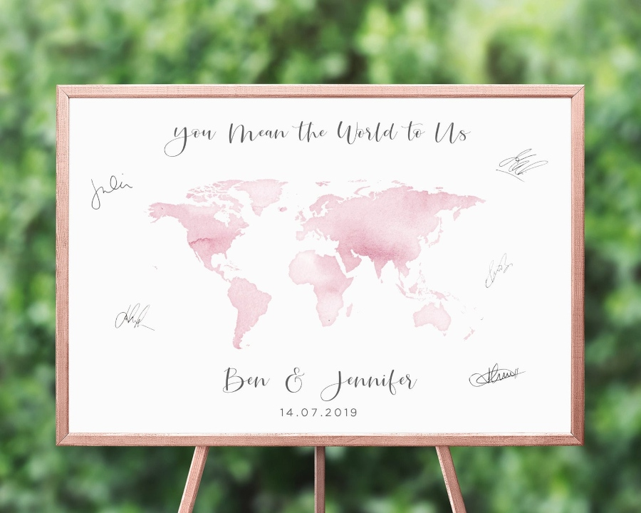 Destination Wedding Guest Book Alternative Ideas 2