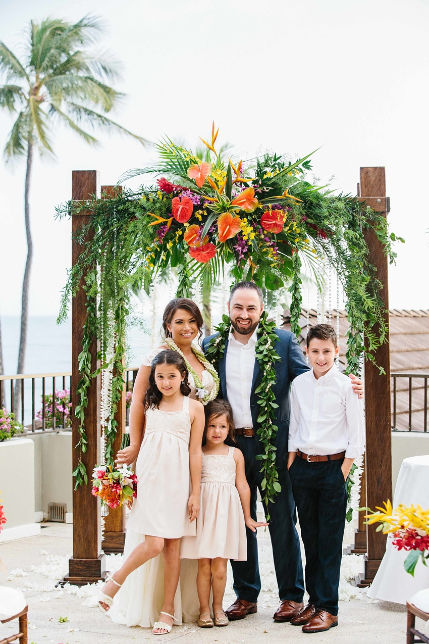 Destination Wedding Hawaii at the Halekulani Hotel 0364