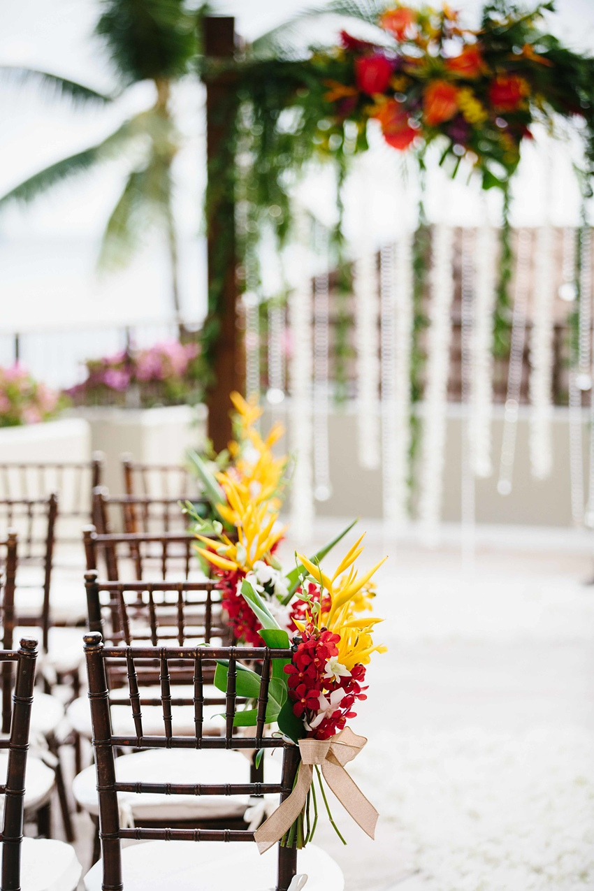 Destination Wedding Hawaii at the Halekulani Hotel 0409