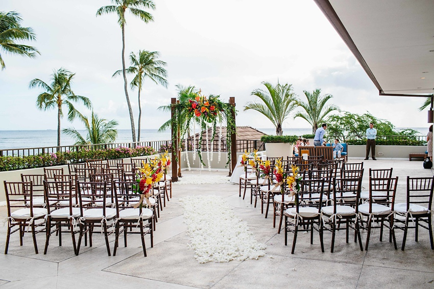 Destination Wedding Hawaii at the Halekulani Hotel 0410