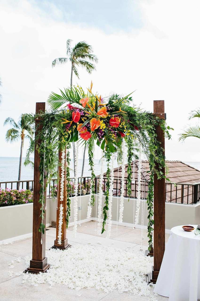 Destination Wedding Hawaii at the Halekulani Hotel 0411