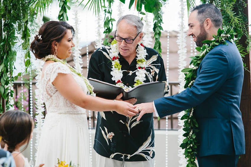 Destination Wedding Hawaii at the Halekulani Hotel 0424