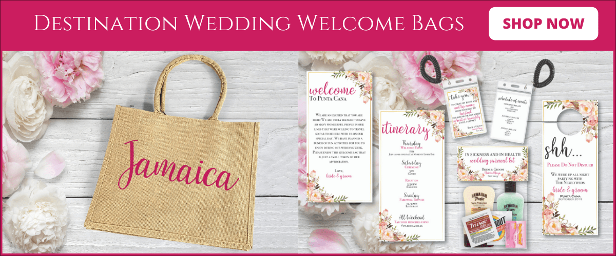 Destination Wedding Welcome Bags ad min