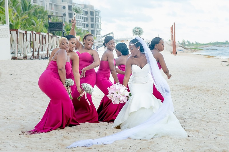 Destination Wedding at Generations Resort Riviera Maya 0275