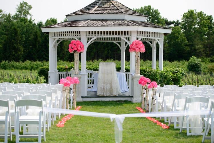Niagara on the Lake Wedding Gazebo