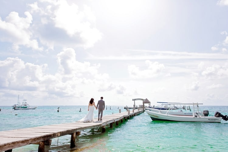 Destination Wedding at Now Jade Riviera Cancun 16