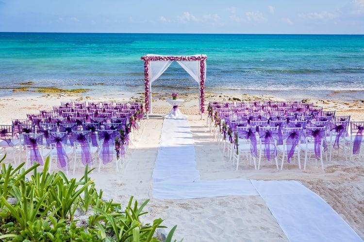 Now Jade Riviera Cancun Destination Wedding