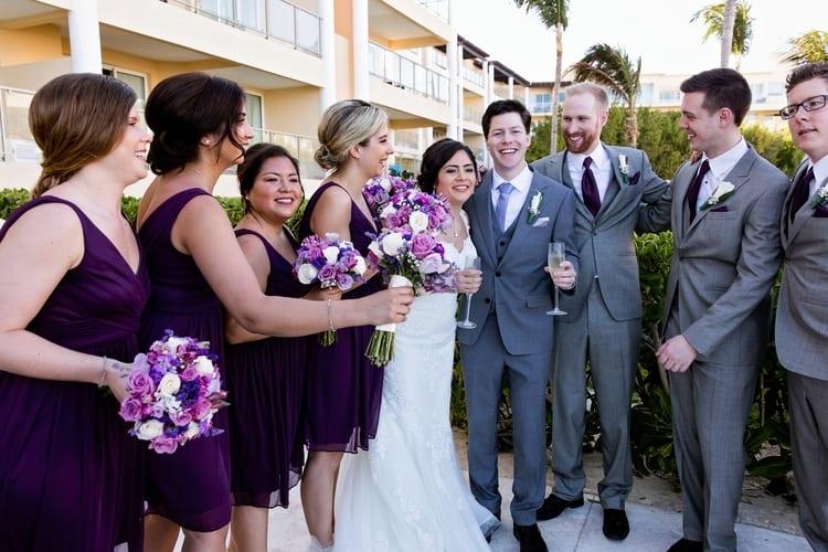 Destination Wedding at Now Jade Riviera Cancun 60