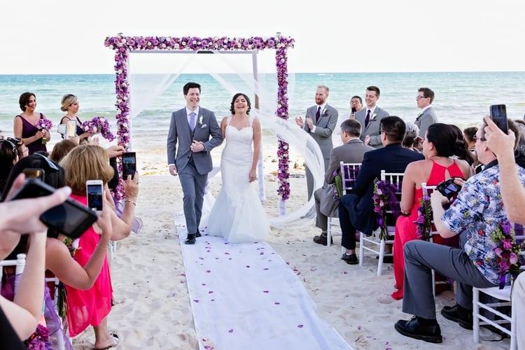 Destination Wedding at Now Jade Riviera Cancun 63