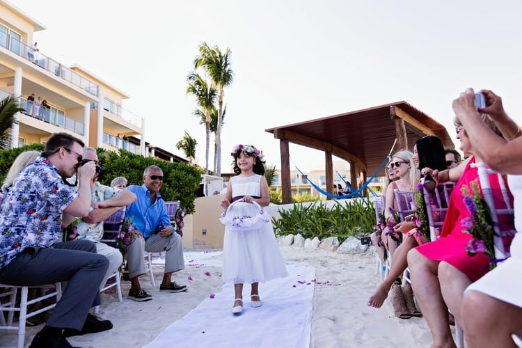 Now Jade Riviera Cancun Destination Wedding
