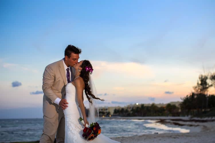 Destination Wedding at Sandos Caracol 12