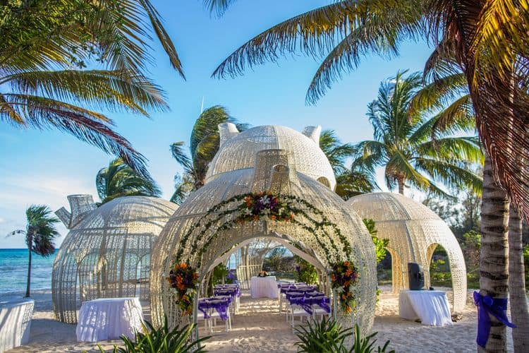 Destination Wedding at Sandos Caracol 17