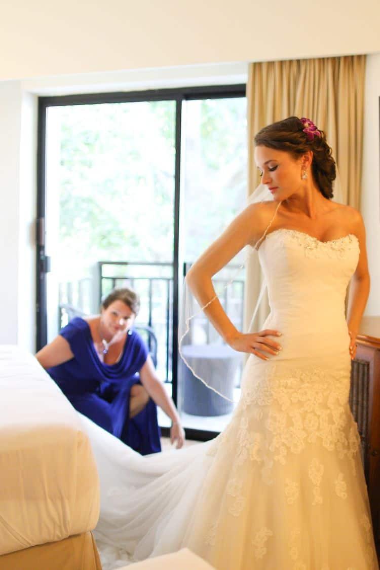 Destination Wedding at Sandos Caracol 24 1