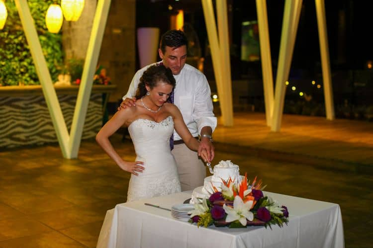 Destination Wedding at Sandos Caracol 3