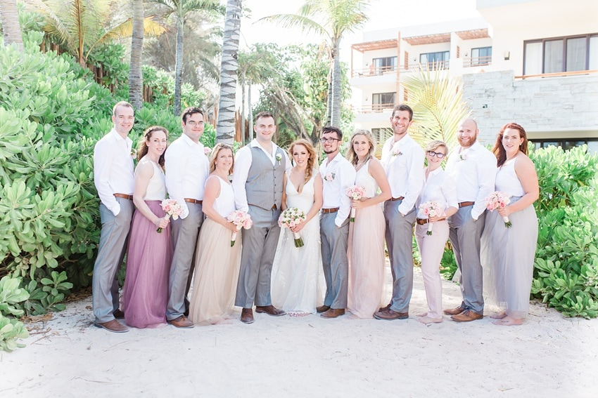 Destination Wedding at Secrets Akumal Riviera Maya 0067