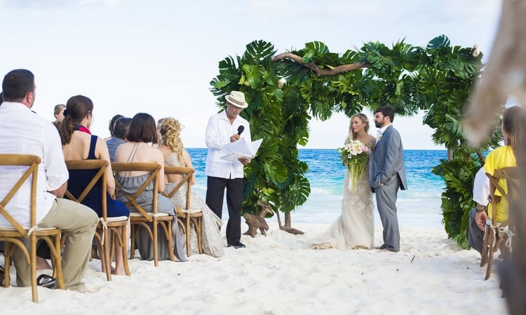 Destination Wedding in Ak'iin Beach 27