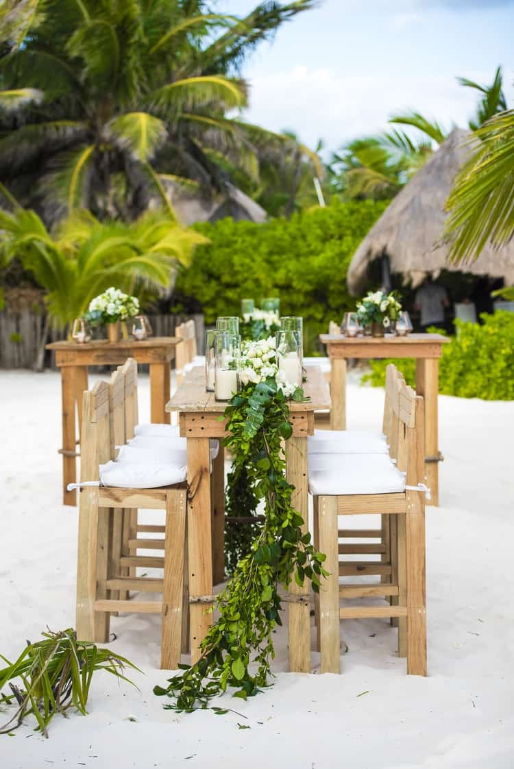 Destination Wedding in Ak'iin Beach 45