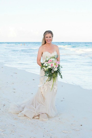 Destination Wedding in Ak'iin Beach 538