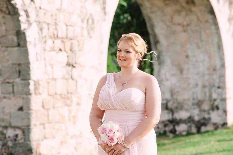 Destination Wedding in Ancient Aqueduct Ruins in Montego Bay
