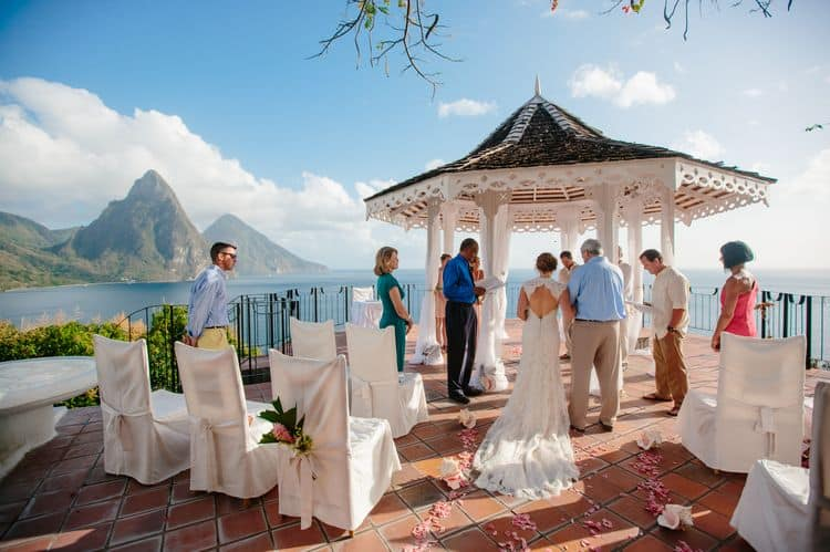 destination wedding in St. Lucia