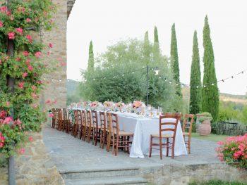 Stunning Casa Cornacchi Destination Wedding in Tuscany