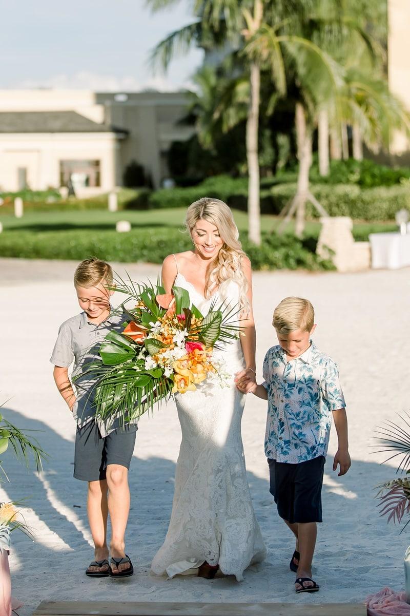 Destination wedding Vow Renewal in Marco Island 0044
