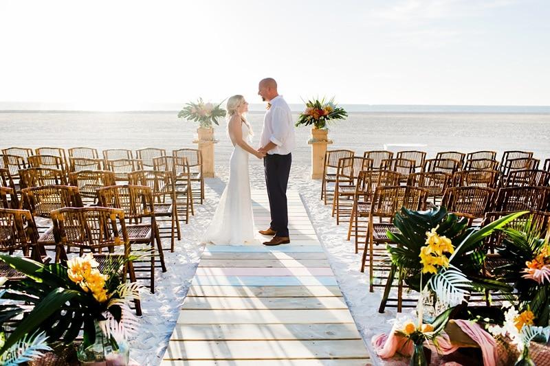 Destination wedding Vow Renewal in Marco Island 0057