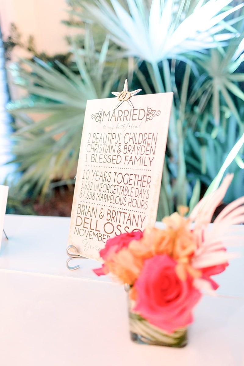 Destination wedding Vow Renewal in Marco Island 0083