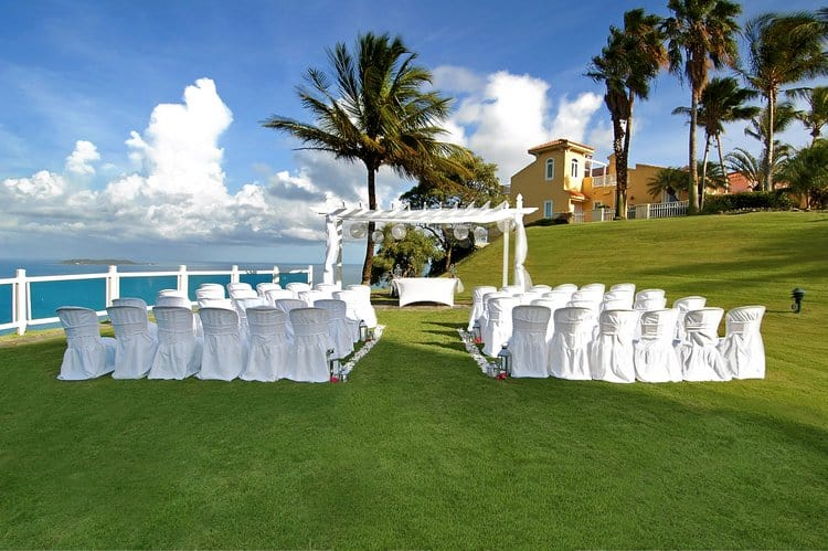 Destination wedding in puerto rico - El Conquistador