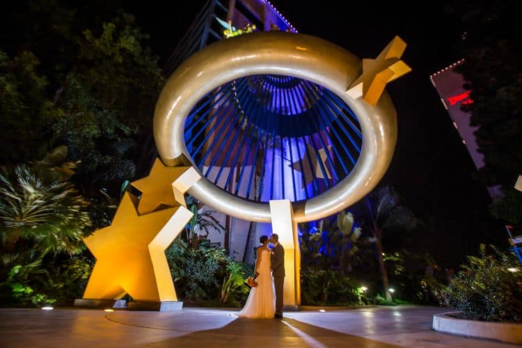 Disney Land Destination Wedding43