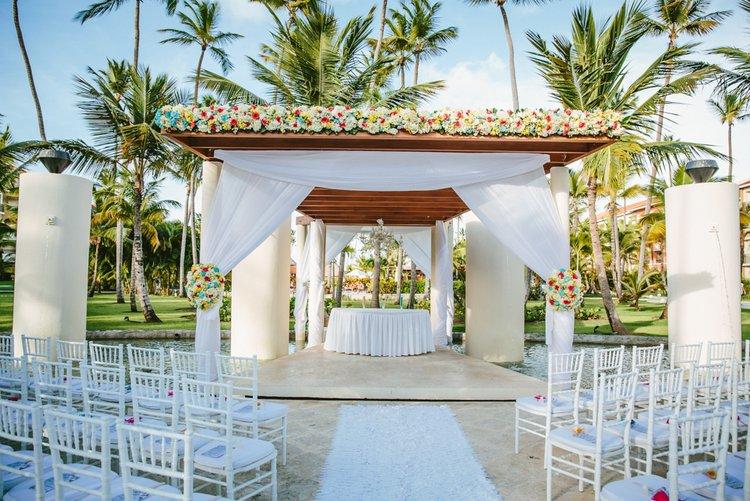 Dominican Republic wedding at Now Larimar