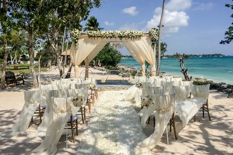 Dreams La Romana wedding 1