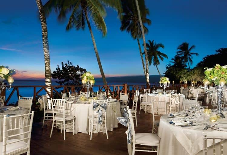 Night Beach Wedding Reception Elegant Caribbean Island: Are Free Wedding Packages Really...FREE?