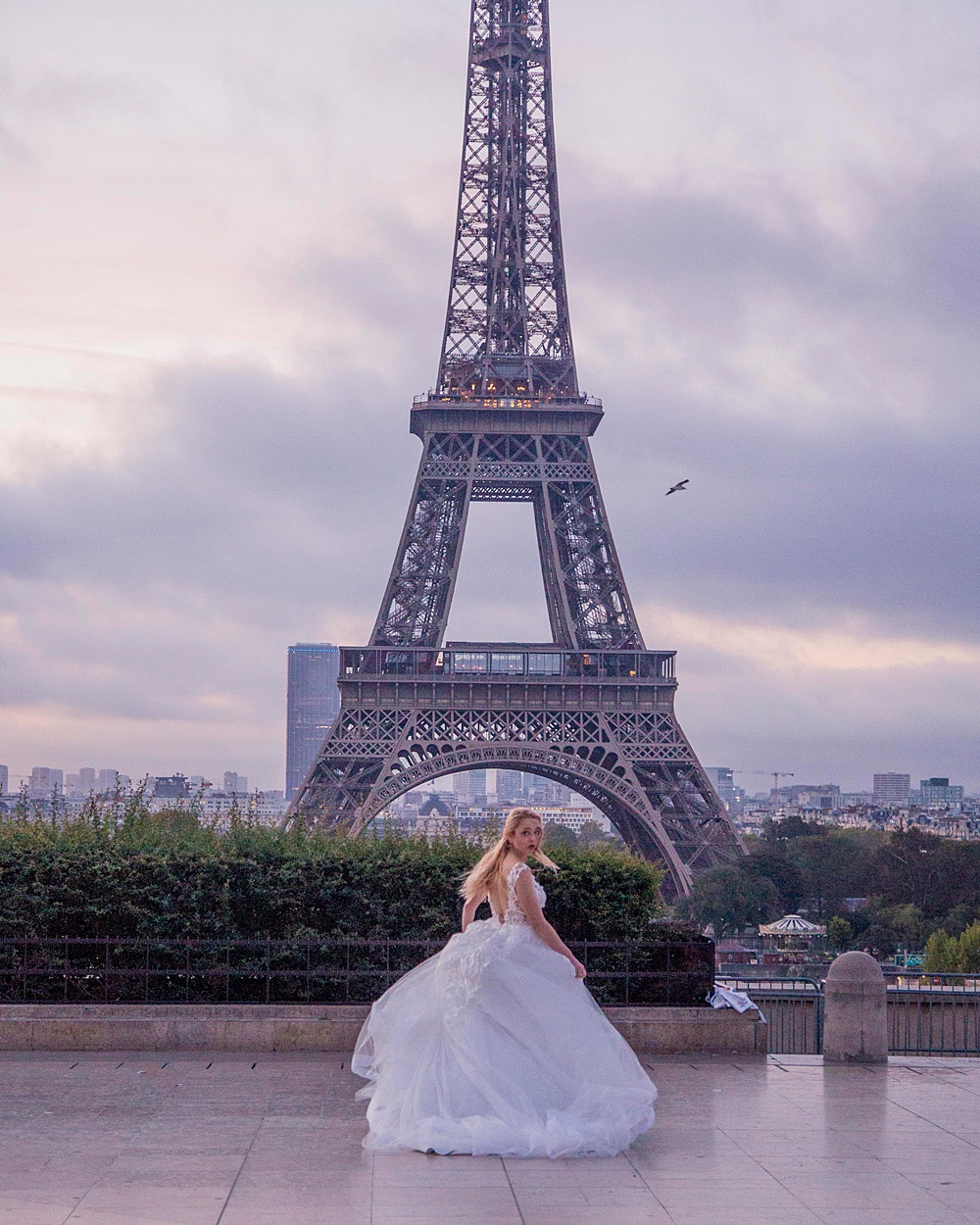 Eiffel Tower Wedding Inspiration