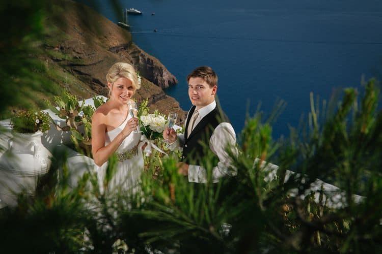 Elopment in the Dreams Luxury Suites in Santorini46