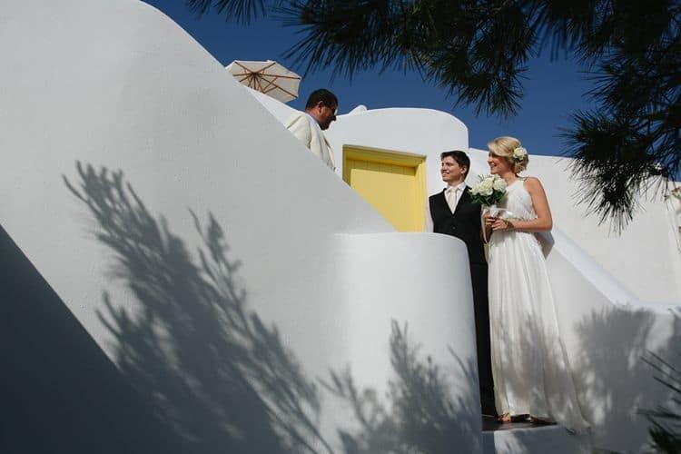 Elopment in the Dreams Luxury Suites in Santorini56