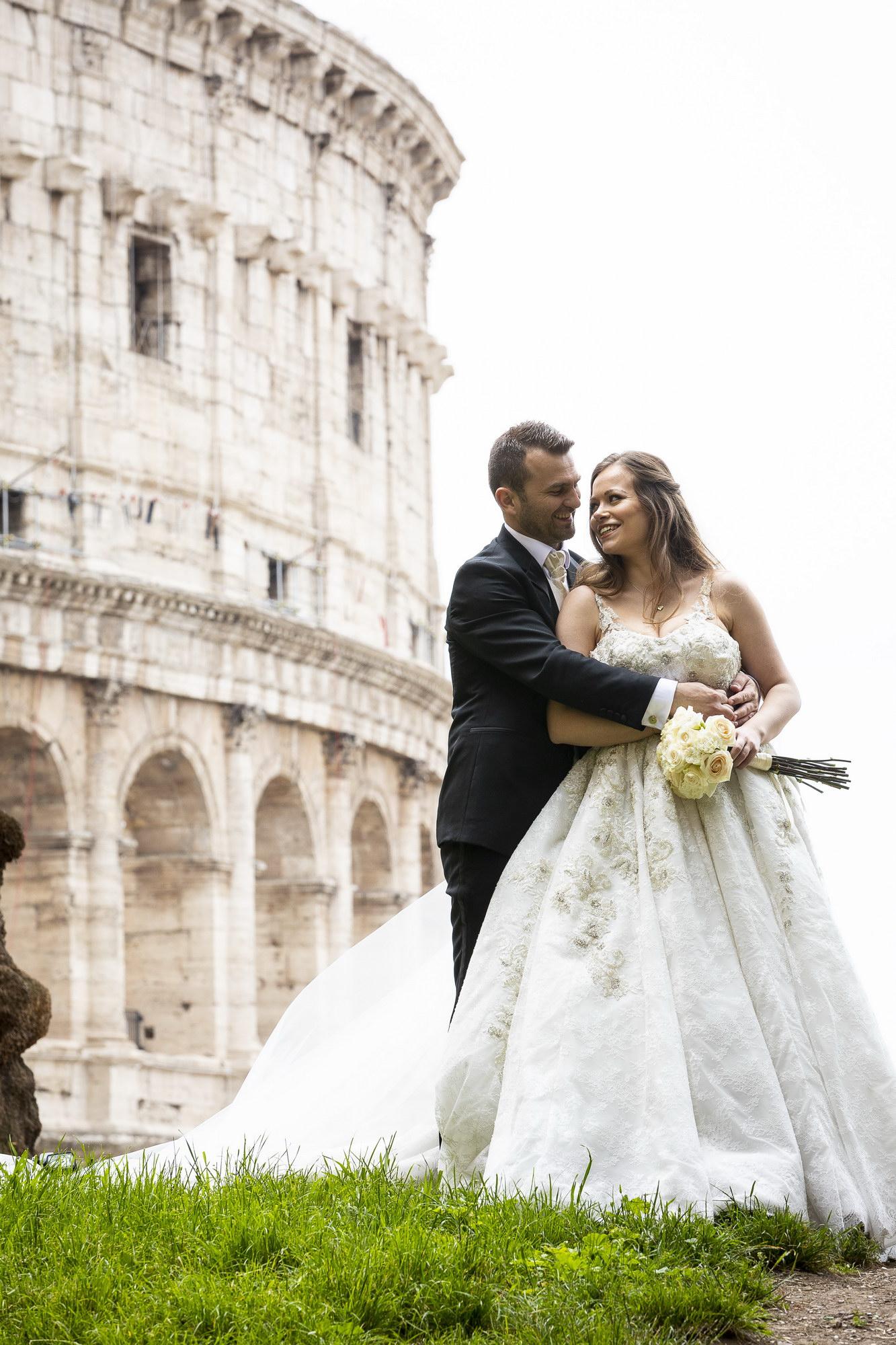 European Landmark Wedding