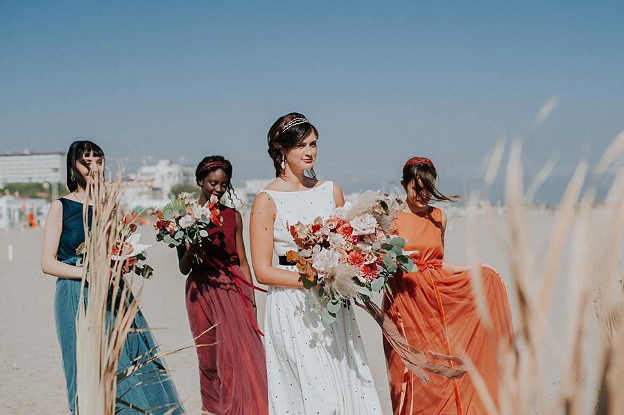 Fall Wedding Bridesmaids Dresses