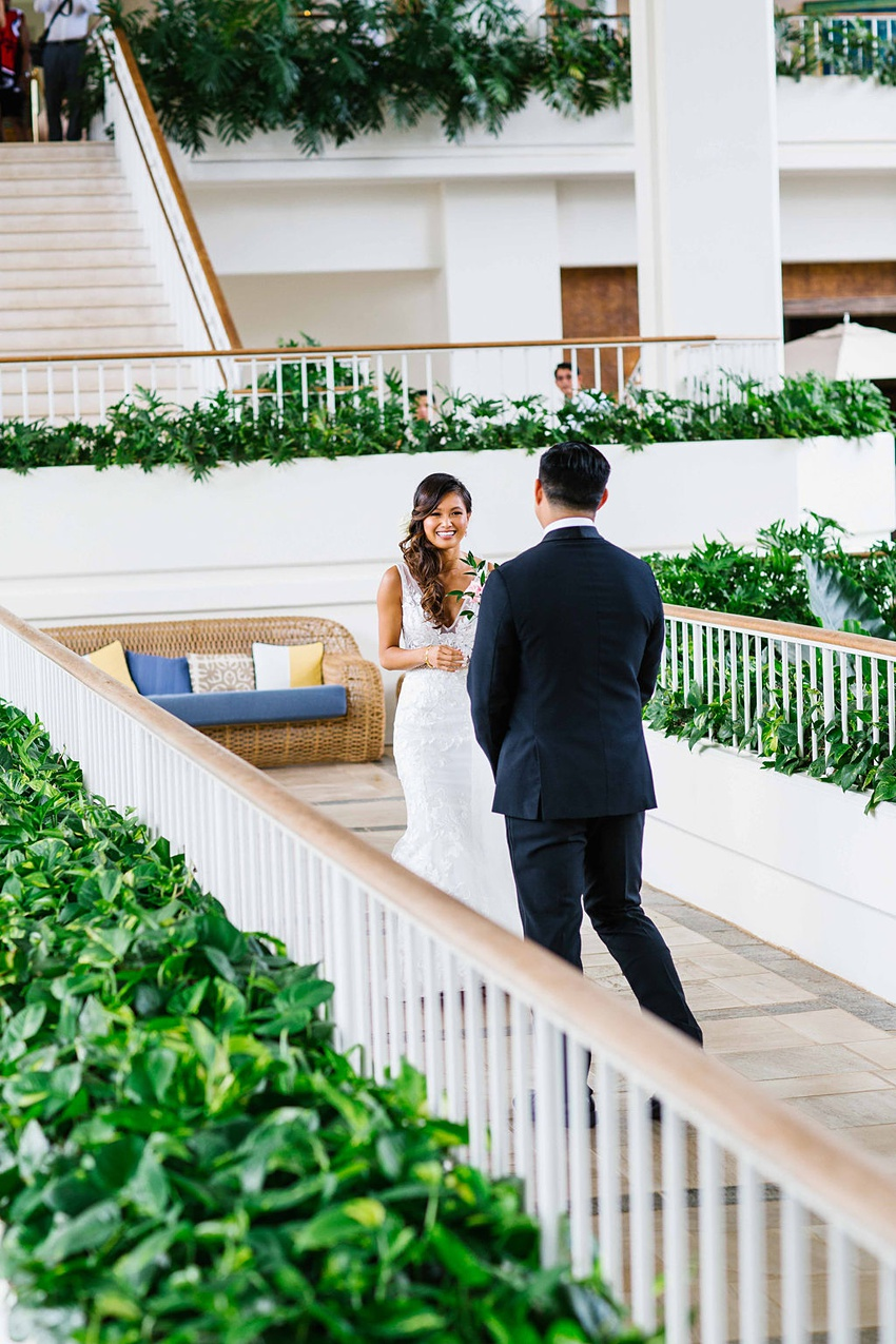 Garden destination wedding in Kapolei Hawaii 0080