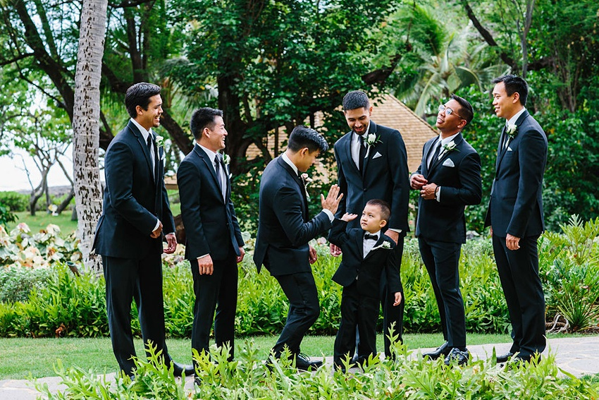 Garden destination wedding in Kapolei Hawaii 0085