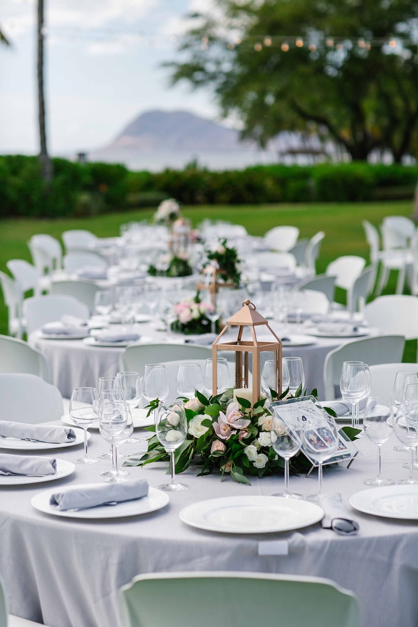 Garden destination wedding in Kapolei Hawaii 0089
