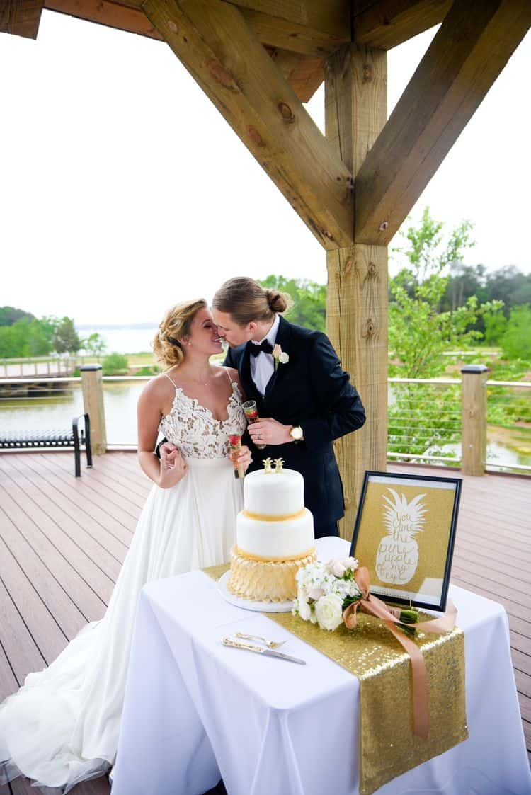Golden Pineapple elopement in North Carolina 91