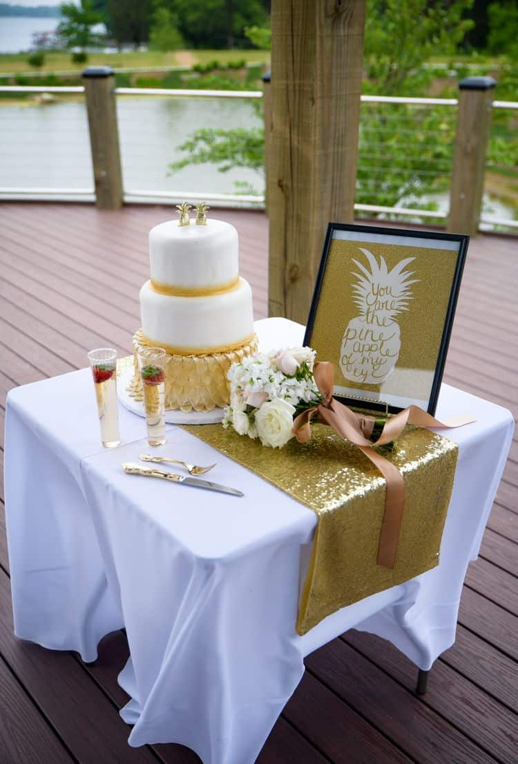 Golden Pineapple elopement in North Carolina 95