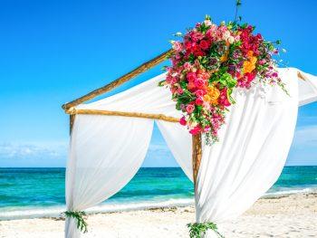 Bright & Tropical Destination Wedding at Grand Coral Beach Club