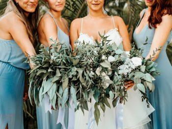 Greenery Wedding at Secrets Resort Playa Mujeres