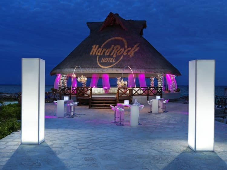 Hard Rock Riviera Maya Wedding venue
