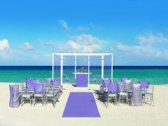 Hard Rock Wedding Purple Shimmer Ceremony 1 240x180