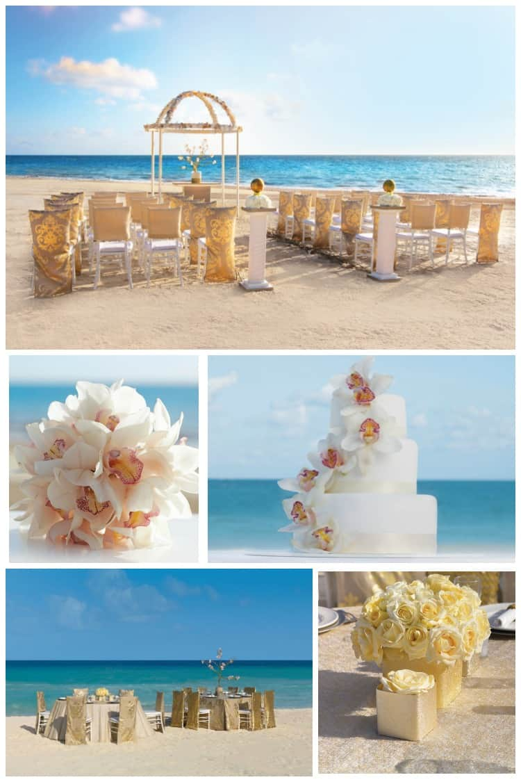 Hard Rock Weddings Metallic Dunes